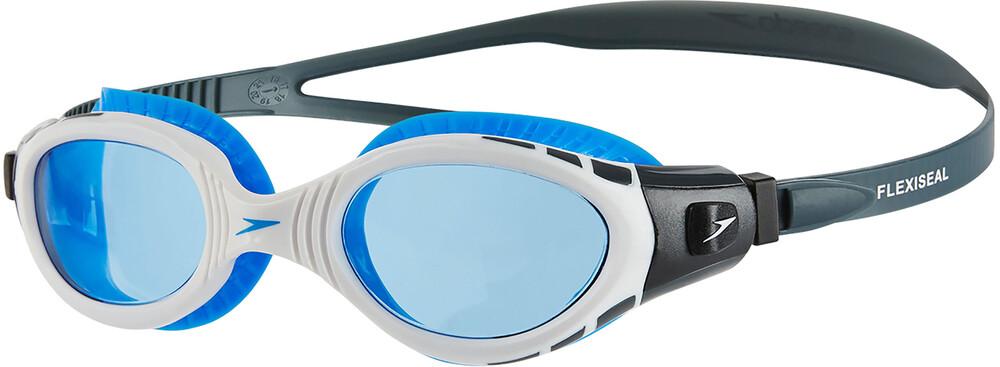 speedo Futura Biofuse Flexiseal Goggle Oxid Grey/White/Blue 2018 Schwimmbrillen 4p3aL